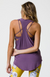 Onzie Glossy Flow Tank - Purple Haze