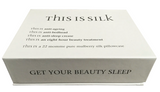 THIS IS SILK - Dual Strap Eye Mask in Noir