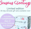 Skinade - 30 Day Travel Supply Christmas Box - 7 days FREE Derma Defense!