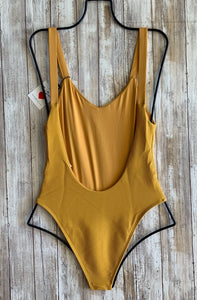 Vitamin A Swimwear x Fred Segal 'Louise' One Piece in Honeycomb BioRib