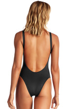 Vitamin A Swimwear 'Leah' One Piece in Ecolux Black