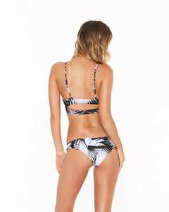 "L*Space Swimwear ""Emma' Bikini Bottom in Shadow Palm"