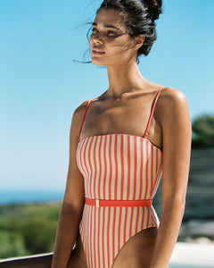 L*Space Swimwear Lay It On The Line Lockhart One Piece