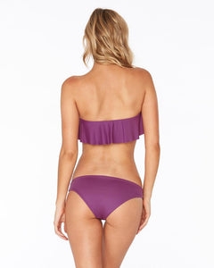 L*Space Swimwear 'Lynn' Bandeau Bikini Top in Orchid