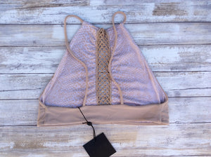 Acacia Swimwear Malibu Bikini Top in Clay