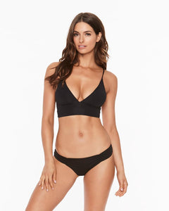 L*Space Swimwear 'Monique' Bikini Bottom in Black