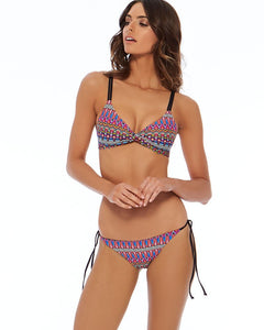 L*Space Swimwear 'Hartley' Bikini Top in Native Dance