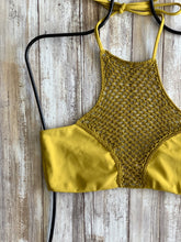 Acacia Swimwear Panama Bikini Top in Pineapple