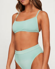 L*Space Swimwear 'Gemma' Bikini Top in High Tide