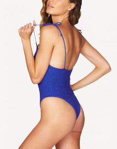 BOUND by BOND-EYE  'THE MICKI' ONE PIECE in CERULEAN