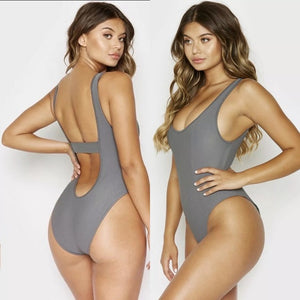 Frankie's Bikinis 'Andi' One Piece in Caviar