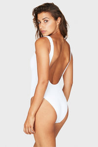 BOUND by BOND-EYE 'THE MARA' ONE PIECE in OPTIC WHITE