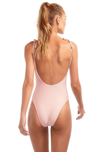 Vitamin A Swimwear 'Valentina' One Piece in Perla Rosa BioRib