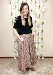 Ruffled and Ready Faux Wrap Skirt