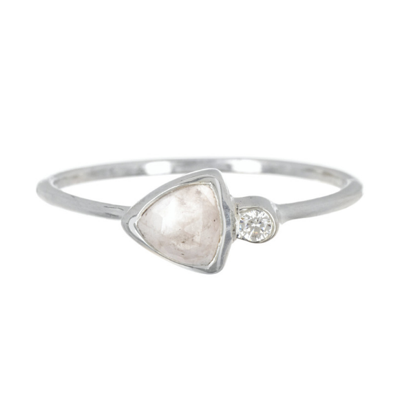 Delicate Triangle - Pura Vida Rings