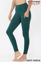 """Butter"" Leggings with POCKET"