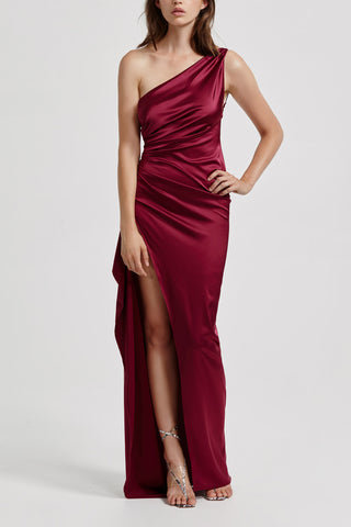 Lexi Samira Dress Burgundy