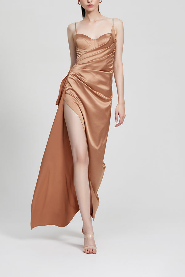 Lexi Tameka Dress Bronze