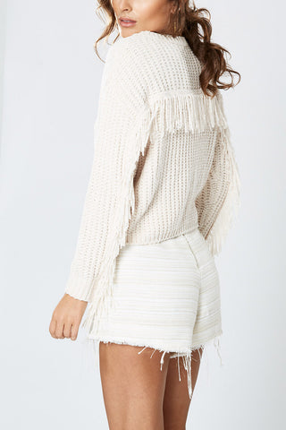 Winona Baltic Fringe Knit