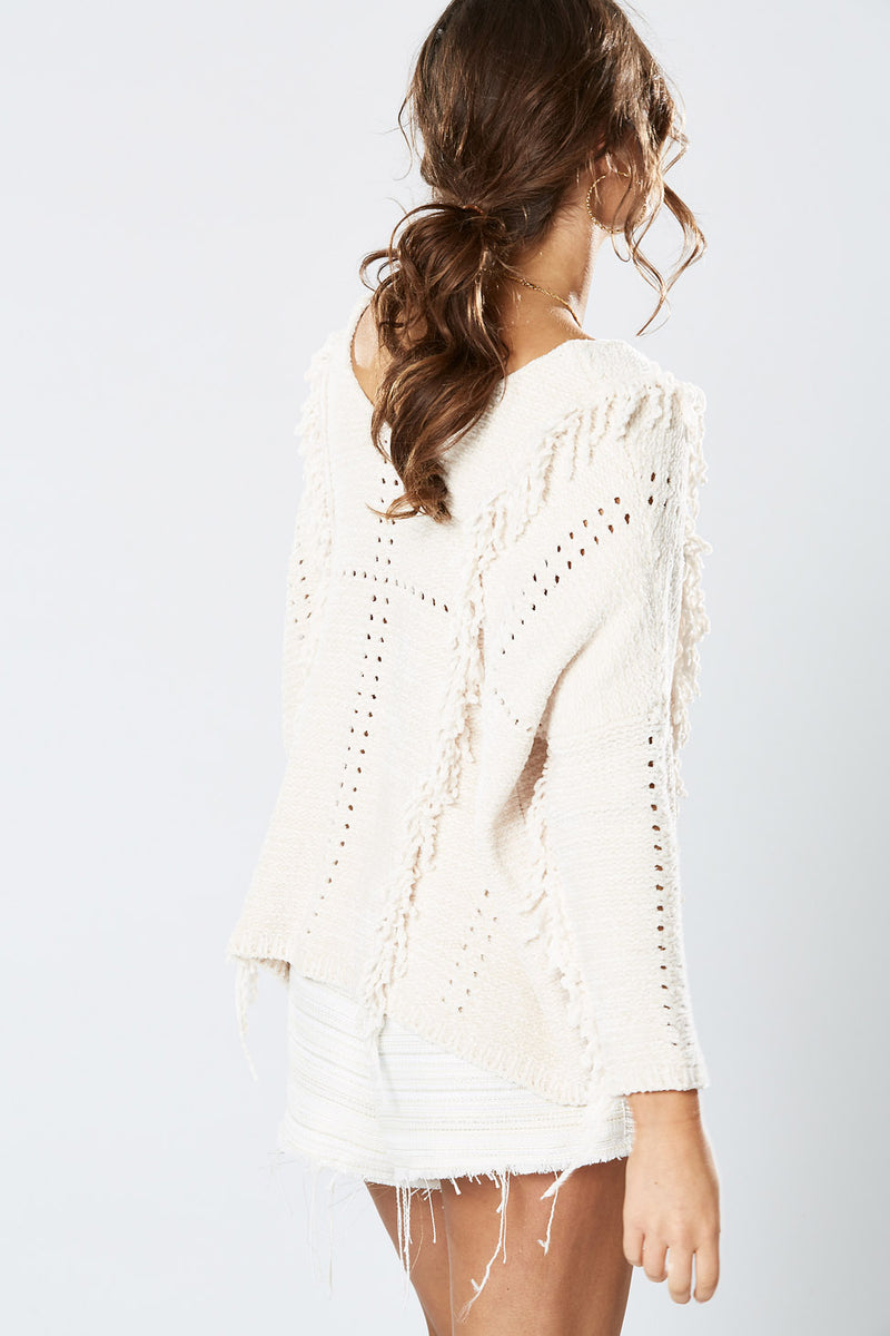 Winona Elk Knit Top