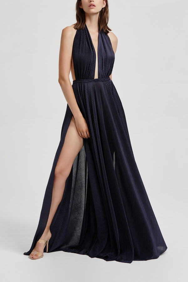 Lexi Natalia Dress Navy