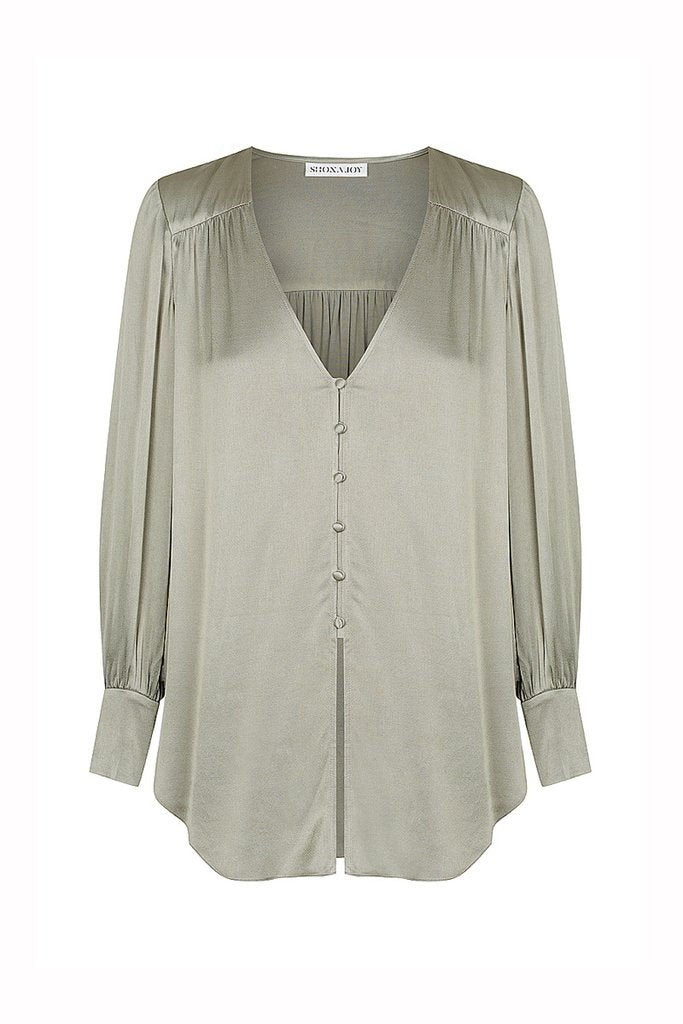 Shona Joy Joan Long Sleeve Blouse