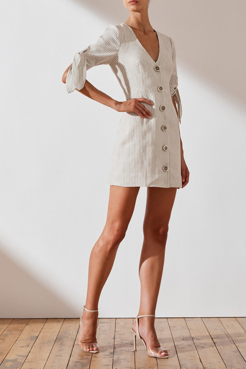 Shona Joy Shaw Fitted Mini Dress