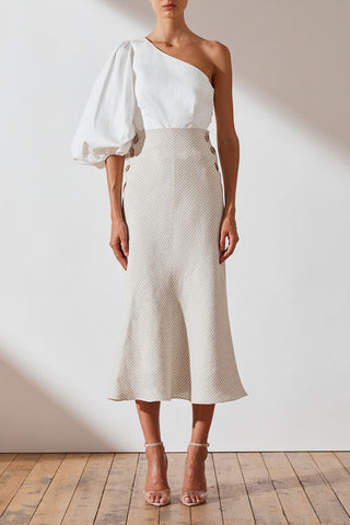 Shona Joy Shaw Bias Midi Skirt