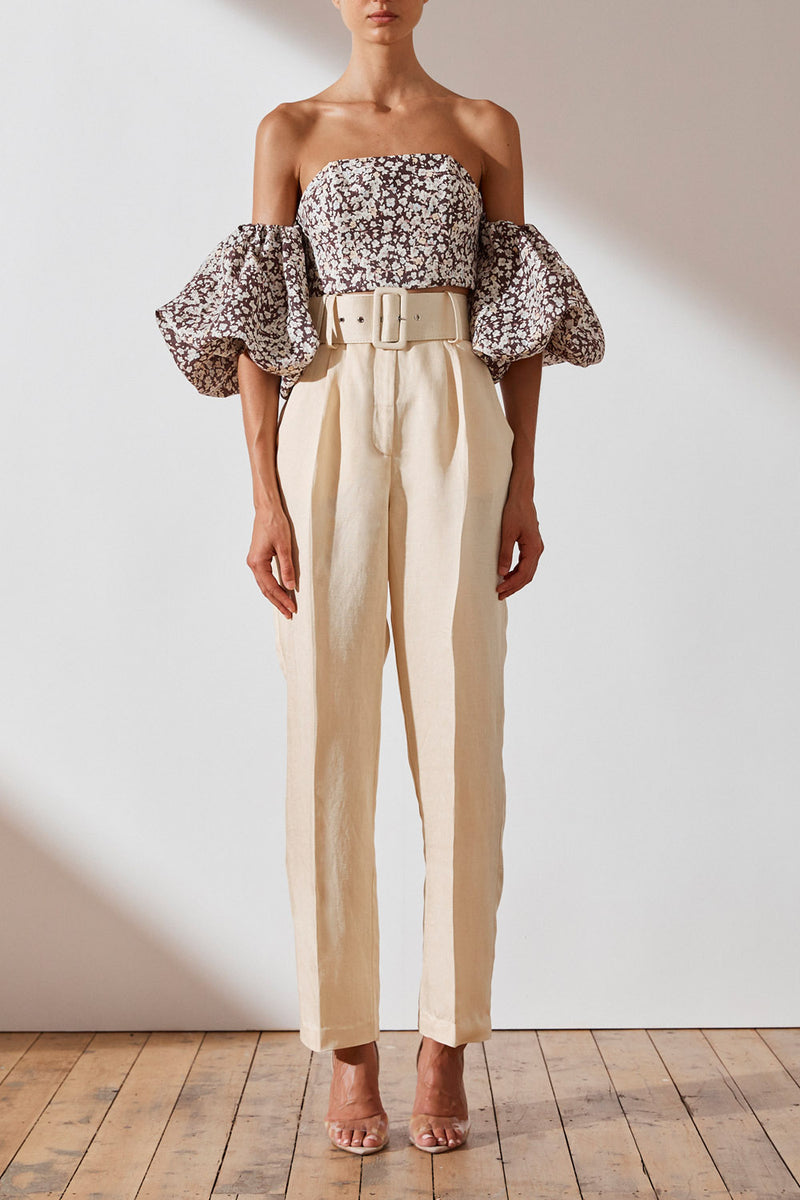 Shona Joy Ellington Trouser W Belt