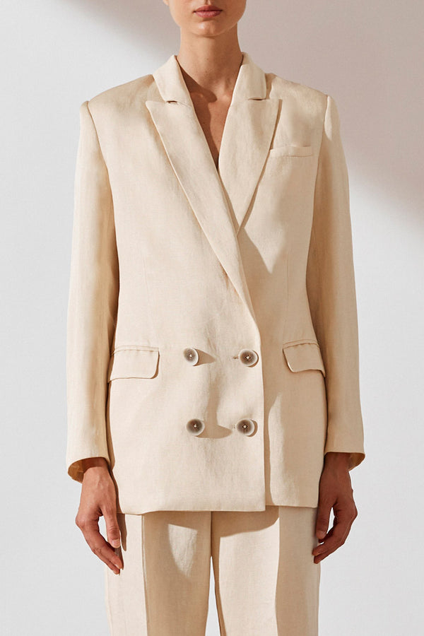 Shona Joy Ellington Double Breasted Suit Jacket