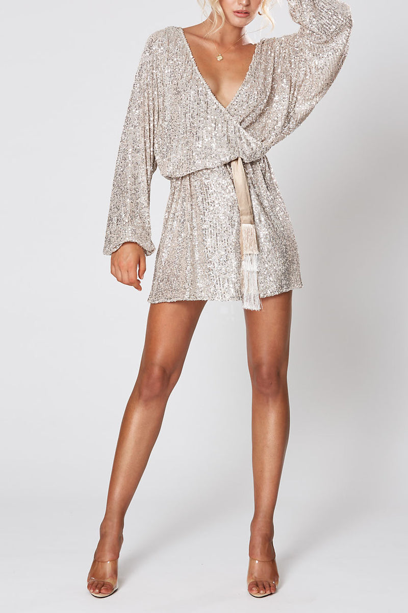 Winona Broadway Dress Silver