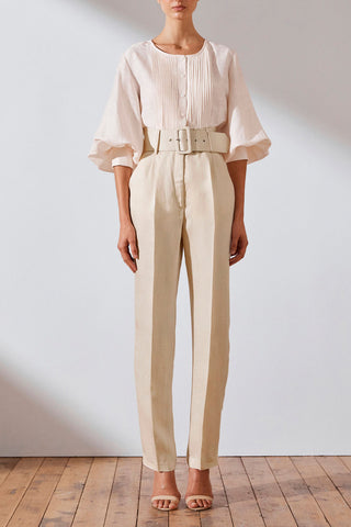 Shona Joy Wren Linen Tailored Trousers