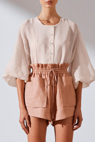 Shona Joy Charlotte Balloon Sleeve Blouse