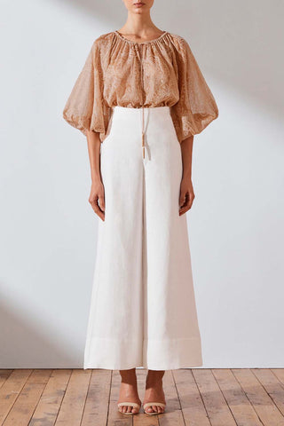 Shona Joy Savannah Linen Sailor Pant