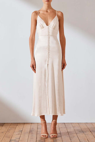 Shona Joy Jefferson Cocktail Midi Dress