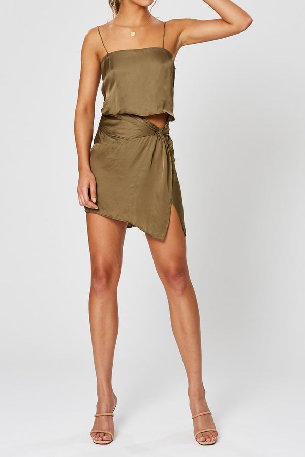 Winona Germaine Dress Olive