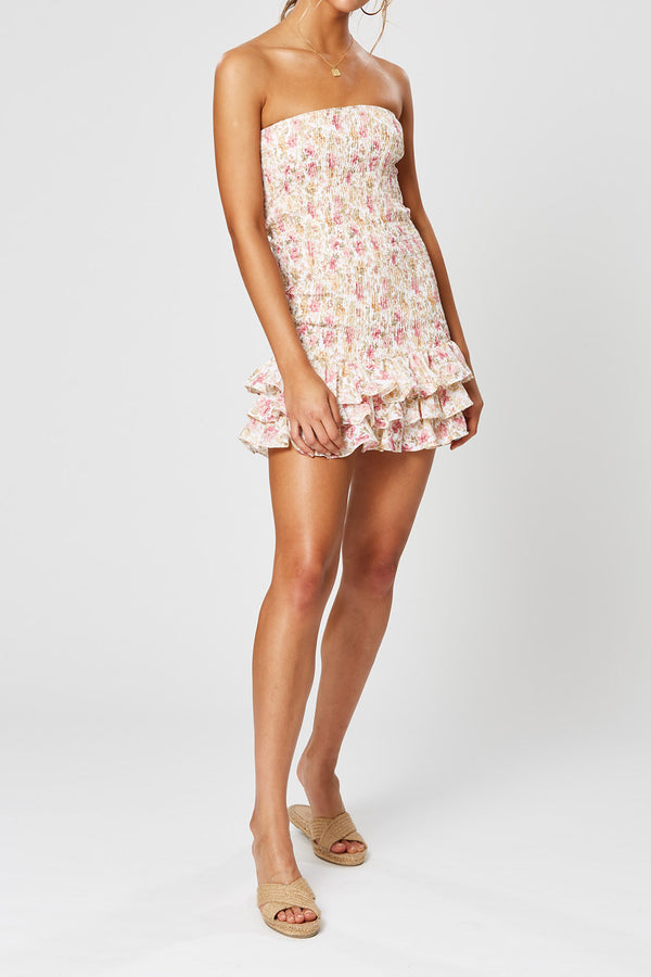 Winona Florence Tube Shirring Mini Dress