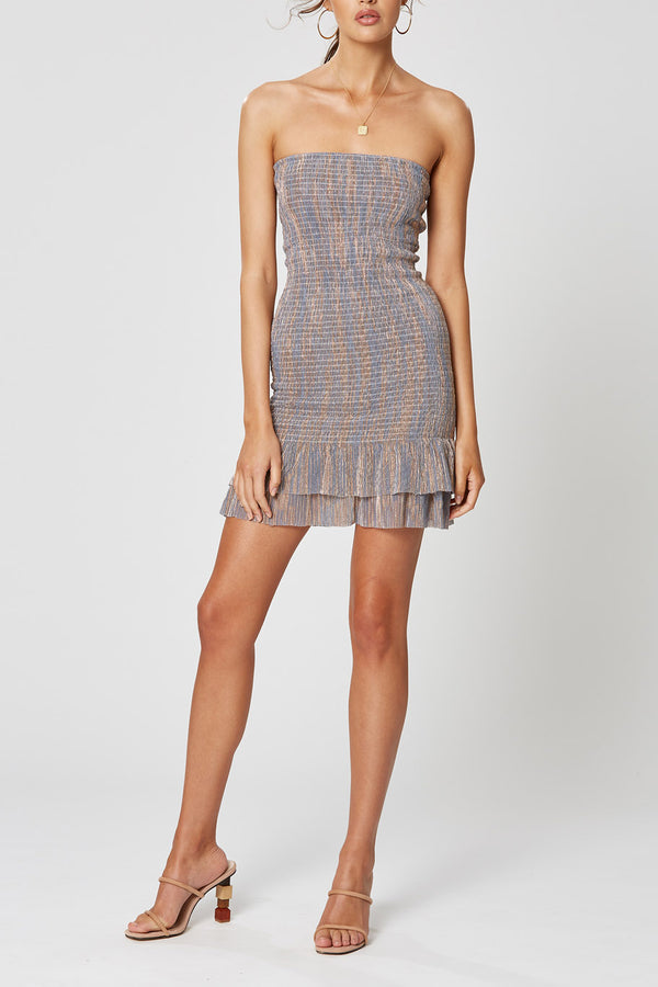 Winona Carrie Shirring Dress