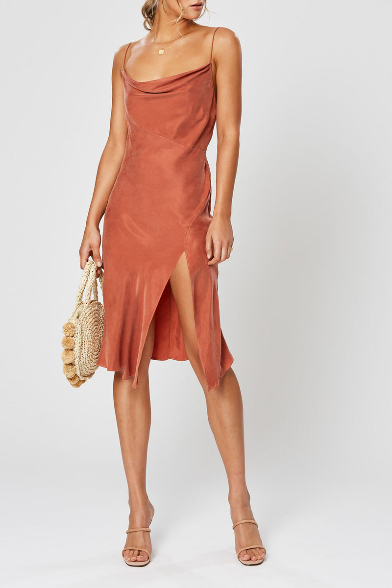 Winona Simone Dress Copper