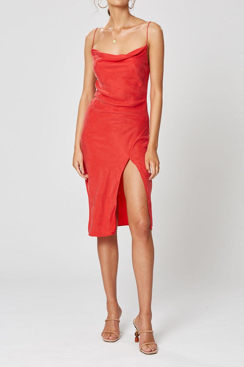 Winona Simone Dress Red