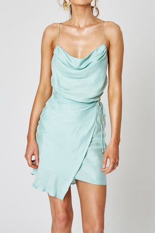 Winona Indio Mini Dress Aqua