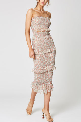 Winona Desert Rose Midi Dress
