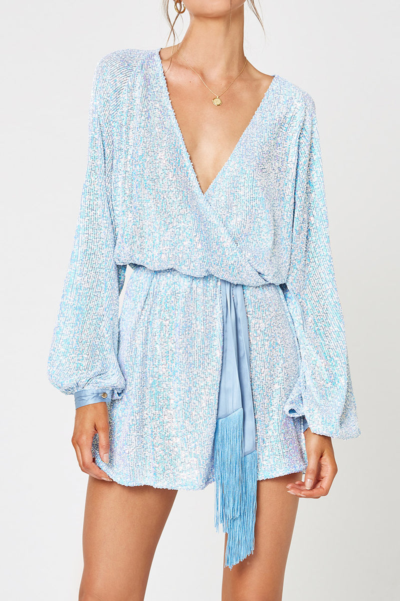 Winona Broadway Dress Baby Blue