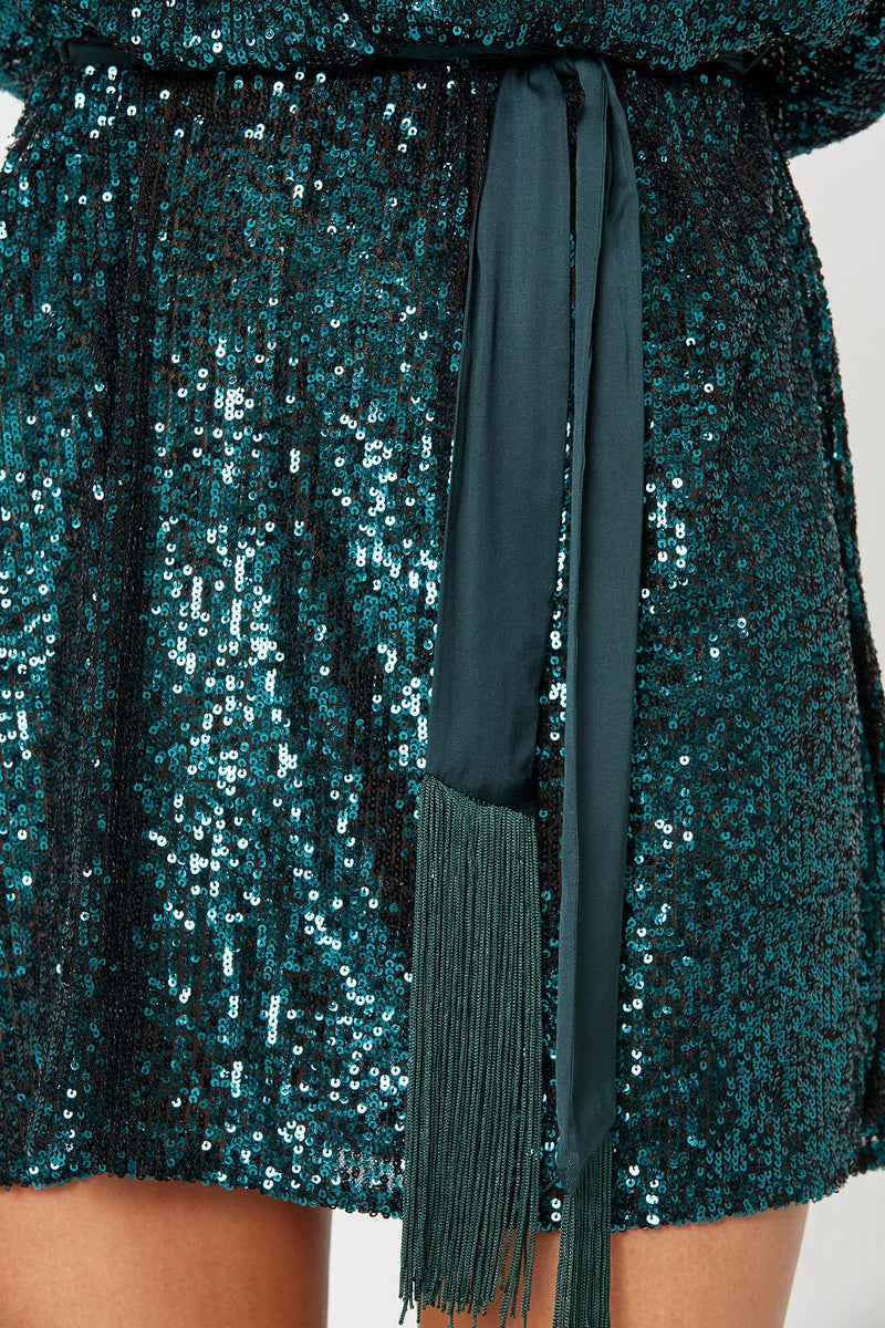 Winona Broadway Dress Teal