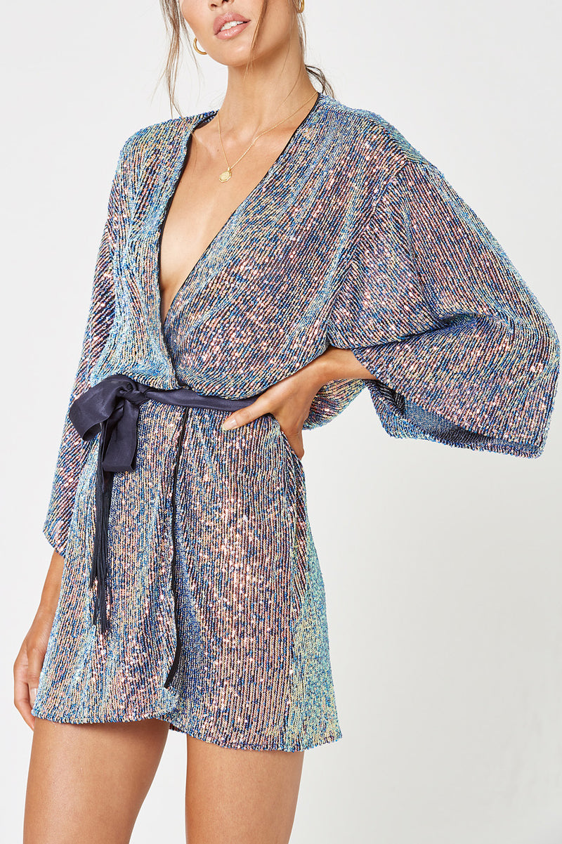 Winona Fantasia Wrap Dress