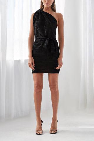 By Johnny Knot Now Mini Dress Black