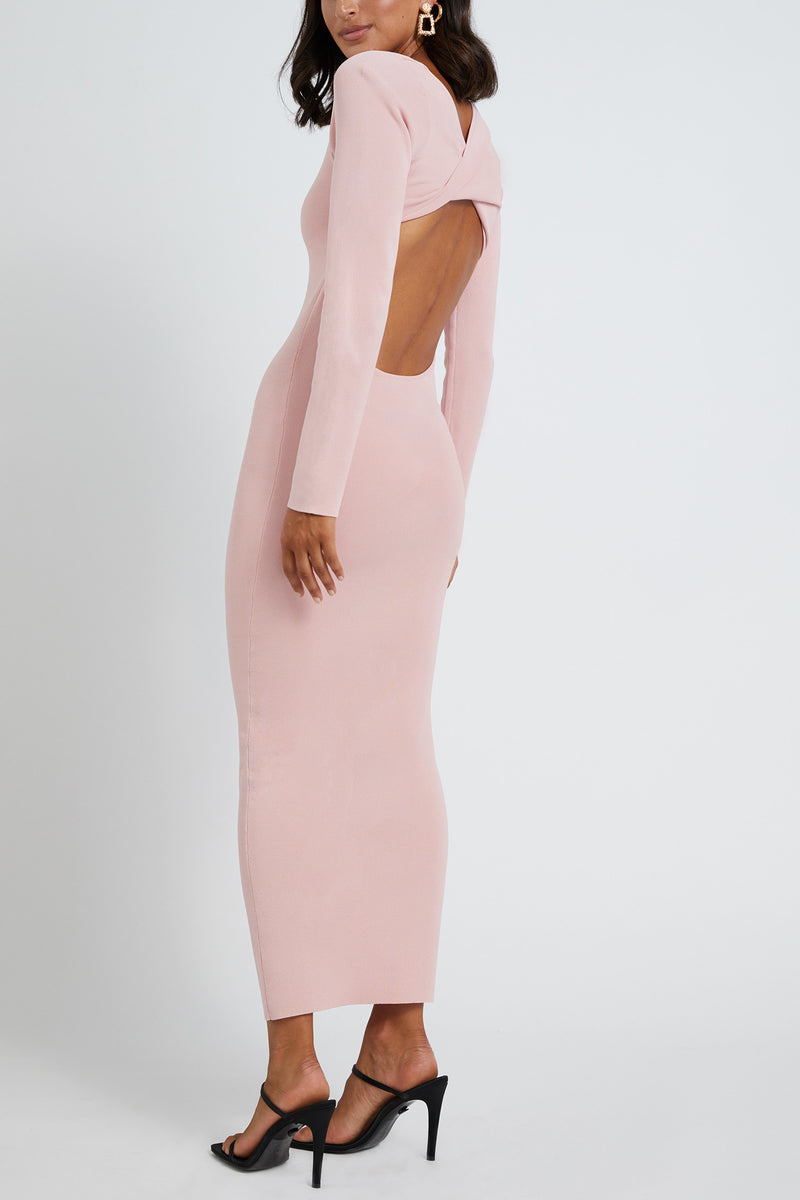 By Johnny Tina Twist Scoop Back Dress