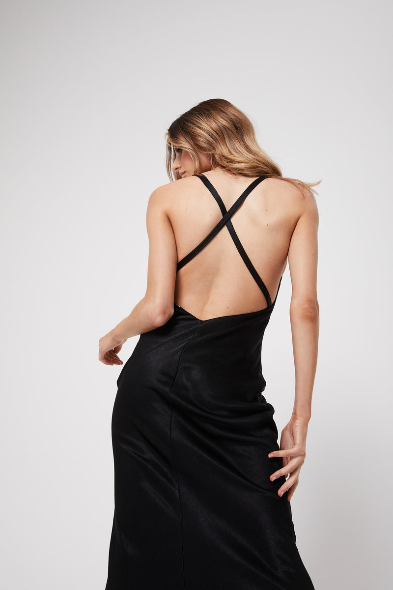 Rozalia x Atoir The Slip Dress Black