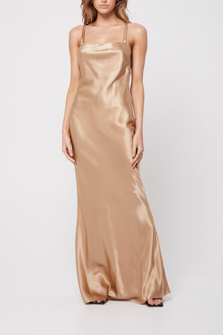 Rozalia x Atoir The Slip Dress Champagne