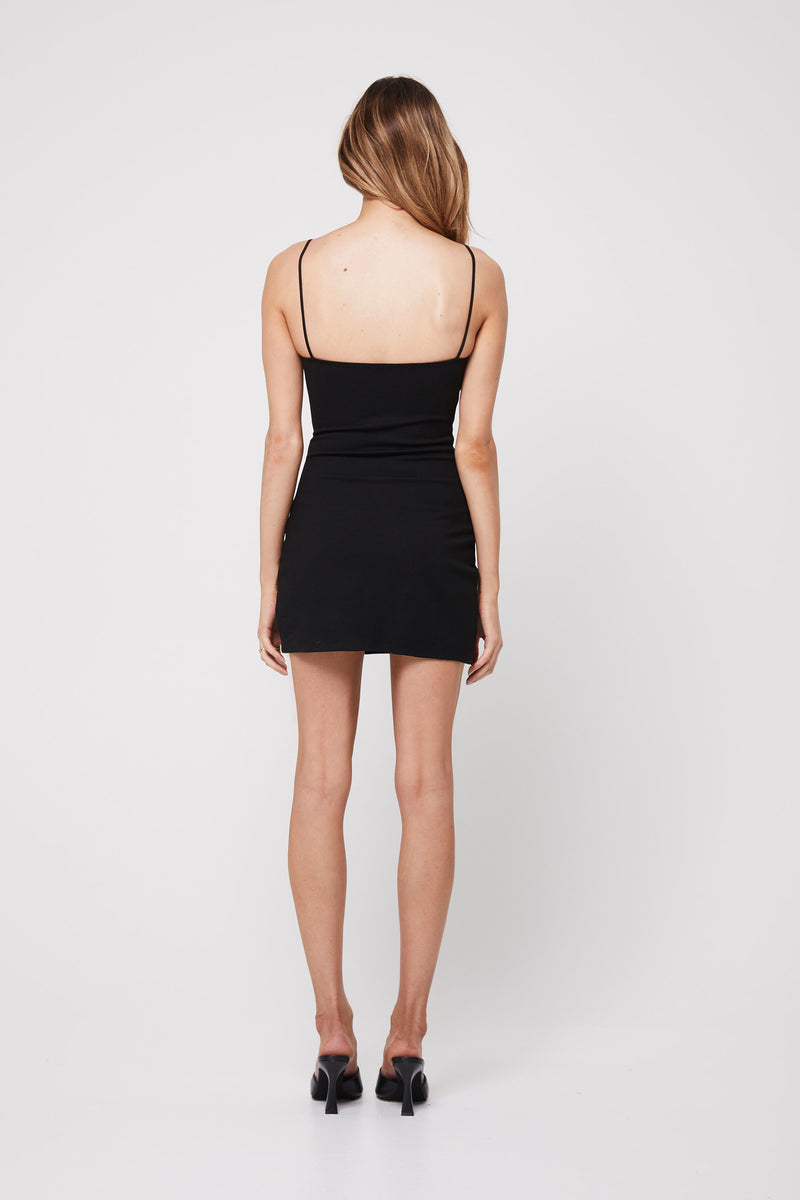 Rozalia x Atoir The Night Mini Dress Black